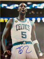 Kevin Garnett signed autographed Boston Celtics 11x14 photo COA