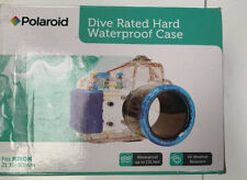 Polaroid Dive Rated Waterproof Underwater Housing Case For Nikon J1 10-30mm Lens