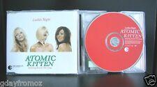 Atomic Kitten - Ladies Night 4 Track CD Single