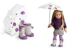*NIB* American Girl  McKenna's Rain Gear Set for Dolls