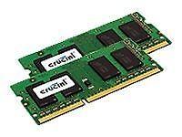 Crucial CT2KIT25664BF160B (4 GB, PC3-12800 (DDR3-1600), DDR3 SDRAM, 1600 MHz, SO DIMM 204-pin) RAM Module