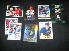 LOT (9) BRETT HULL NHL STAR LEGEND AUTHENTIC VINTAGE HOCKEY CARDS NICE!!!