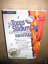 1996 Topps Stadium Club Series1 Baseball Hobby Card Box