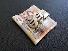 Geldklammer Edelstahl Geldscheinklammer Geldspange Money Dollarclip Geldclip#169