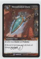 2013 World of Warcraft TCG: Blade Justice Promos Base #12 Threadlinked Chain 1i3