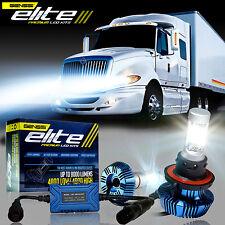 LED Headlight Bulb Kit For International Truck Pro Star Prostar 2008-2017 (LOW)