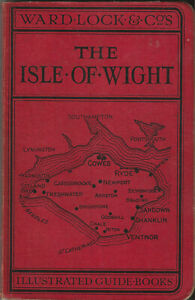 WARD LOCK RED GUIDE - THE ISLE OF WIGHT - 1931/32 - 22nd edition - maps & plans