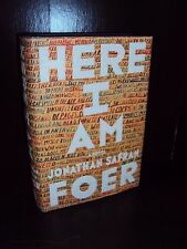 Here I Am by Jonathan Safran Foer 2016 Hardcover First Edition 1st/1st SIGNED