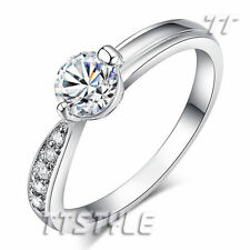 Solitaire with Accents Stone Fashion Rings