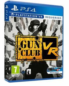 Gun Club VR Playstation 4 PS4 PS5 Guns Shooting NextGen Reality - Brand New!