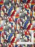 Parrot Birds Multicolor Bird Cotton Fabric Fabriquilt Inc Living Wonders - Yard