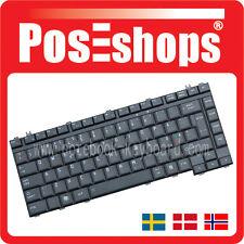 Orig. Nordic Tangentbord Satellite A300 A300D A305 A350 A350D SCA Tastatur New