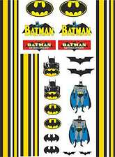 1-10 Scale Model Car Decals Batman Style Designs Exterior Vinyl Stickers