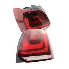 2Pcs For VW Polo 2010 2011 2012 2013 LED Tail Light Rear Light 6R0945095 096