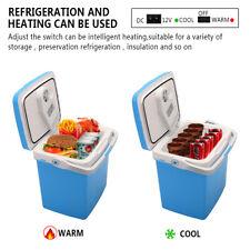 26L Portable Home Car Mini Fridge Electric Cooler & Warmer AC/DC System 0.92Cuft