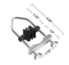 "8 Trampoline Enclosure Clamp Connecter up to 1.5"" Pole & 1.75"" Leg Diameter"