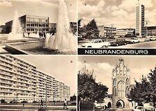 B44613 Neubrandenburg multiviews cars voitures  germany