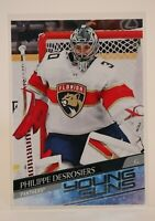 2020-21 UD Series 2 Young Guns, Philippe Desrosiers RC - Florida Panthers #465