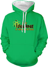 I'm Not Insane My Mother Had Me Tested Crazy Mom Atom Two Tone Hoodie Sweatshirt