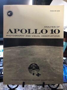 VERY RARE NASA MANUAL! Apollo 10 Photographic Catalog - WITH ALL 6 MAPS!