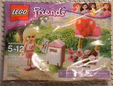 Lego Friends 30105 Stephanie Mailbox & Hearts Promo Set, SEALED 2012 Retired