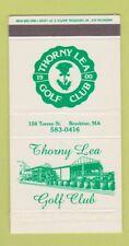 Matchbox - Thorny Lea Golf Club Brockton MA