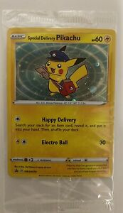 Pokémon TCG Special Delivery Pikachu Promo Card Brand New Trusted Seller