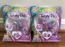 Twisty Petz Series 4 Fruity Wing Flying Pony & Cotton Hunny Bear Lot 2
