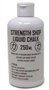Strength Shop Liquid Chalk - 250ml - Grip, Powerlifting, Climbing, Weightlifting