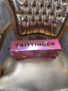 Empty Taittinger Rose Champagne Presentation Box Ideal For Display Or Crafts