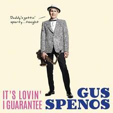 Gus Spenos - It's Lovin' I Guarantee - great swing / jump blues album