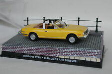 Ixo James Bond 007 1/43 - Triumph Stag Yellow