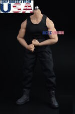 1/6 Combat Tank Top Pants Set C For PHICEN M33 M34 M35 Male Muscular Figure USA