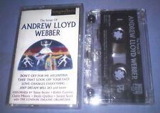 ANDREW LLOYD WEBBER THE SONGS OF cassette tape album T5296