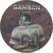 "Samson Feat. Bruce Dickinson, Vice Versa, NEW/MINT PICTURE DISC 12"" vinyl single"