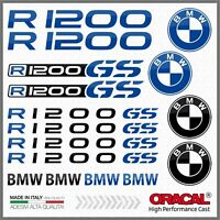 16x R1200GS Black/Blue BMW MOTTORAD ADESIVI R1200 GS PEGATINA STICKERS R 1200