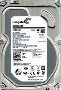 Seagate ST2000DM001 P/N: 9YN164-034 F/W: DC4A TK Z24 2TB