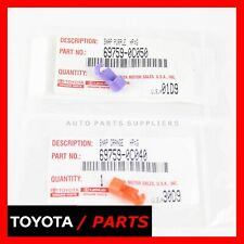 FACTORY TOYOTA TUNDRA TAILGATE LOCK LATCH ROD CLIPS SET 2 OEM 69759-0C050