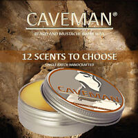 Hand Crafted Caveman® Beard Conditioner Beard Balm 16 Scents to Choose, Free Bag