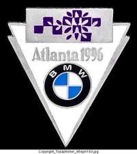 Olympic Pins 1996 Atlanta Bmw Auto Sponsor Logo