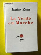 Emile Zola La Vérité Typographie Bernouard 1928 reliure cartonnée éditeur