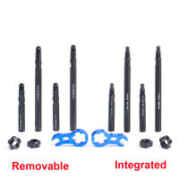 Integrated Removable Bicycle Inner Tubes Valve Extender Extension Core Wrench