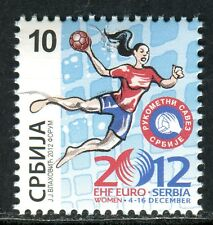 0521 SERBIA 2012 - Handball Women - EHF EURO - MNH Set