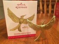 Hallmark Keepsake Ornament Christmas Hunger Games MOCKINGJAY 2 NEW METAL MINT