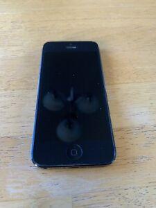 Apple iPhone 5 - 32GB - Black & Slate (Sprint) A1429 (CDMA + GSM)