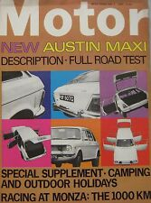 Motor magazine 3/5/1969 featuring Austin Maxi road test, cutaway drawing