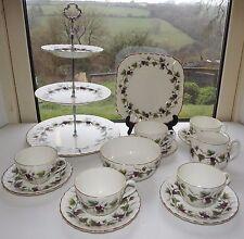 Royal Worcester Bacchanal Teaset  5 x Cups & Saucers Cake Stand, Milk Sugar