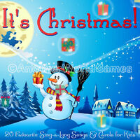 🎅 KIDS CHRISTMAS CAROLS SING-ALONG MUSIC CD 20 CAROL SONGS CHILDREN XMAS PARTY