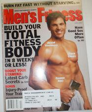 Men's Fitness Magazine Boost Your Stamina April 2001 030615R