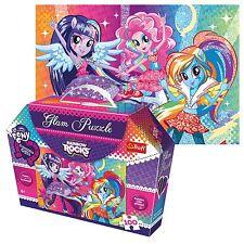 Trefl 100 piezas Glam Brillo Niñas My Little Pony Arco iris Rompecabezas Caja De Regalo